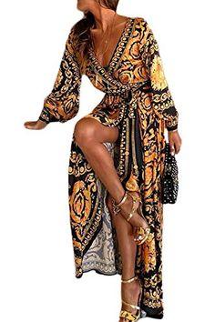 Femme Femmes Floral Imprimé Armée Froncé Haut Sans Manches Évasée Débardeur robe Swing