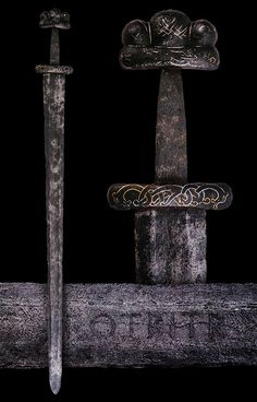 Viking Sword, Danish, 9th or 10th century.