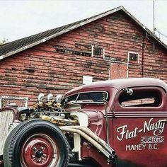 rat rod international #trucks Rat Rod Cars, Hot Rod Trucks, Hot Rod Pickup, Dodge Trucks, Truck Drivers, Classy Cars, Classic Chevy Trucks, Man Up, Vintage Trucks