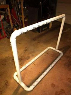 PVC Fishing Rod Rack
