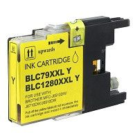 Compatible Brother LC79Y XXL Extra High Yield Yellow Ink Cartridge