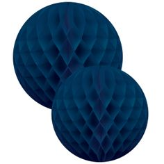 """Set de boules bleues """"shine and blue"""" - lot de 2"""