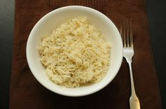 lemon and herb rice