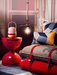 Nieuwste Interieur Trends: De Huls van het Interieur: Lamp Bienvenue21 Cymbale Doree Hanglamp  – MEER Lampen… (Foto Perscentrum Wonen, Bienvenue21  op DroomHome.nl)