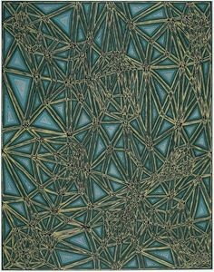 James Siena  Shifted Lattice, 2006  Silkscreen    I love James work. He has worked hard to bring abstract painting and drawing back into the forée.    #ArtspaceFaves