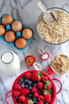 Make-Ahead Baked Oatmeal for Busy Mornings