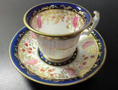 Davenport cup and saucer  1850