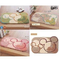 New-DISNEY-Mickey-Acrylic-Entrance-Room-Mat-Carpet-Rug-Choose-Color-from-Japan