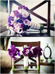 Budge Savy Bride | purple rustic wedding
