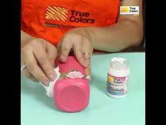 DIY: Faça você mesmo - Reciclagem de garrafa com tinta lousa e decoupage