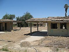 Panoramio - Photo of Military housing ready for demolition