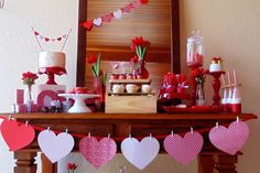 53 Awesome Valentines Day Decoration For Inspiration Valentine Day Love, Valentines Day Party, Valentines Day Decorations, Christmas Decorations, Holiday Decor, Christmas Ideas, Valentine Ideas, Engagement Party Decorations, Holidays And Events