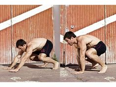 This bodyweight routine from exercise revolution 'Tacfit' uses functional movements to increase your power and give your metabolism a fat-melting kick-start. Perform each move for then rest for before moving on to the next exercise. Bodyweight Routine, Workout Routine For Men, Fat Burning Supplements, Weight Loss Supplements, Muscle Fitness, Fitness Tips, Gain Muscle, Muscle Men, Build Muscle