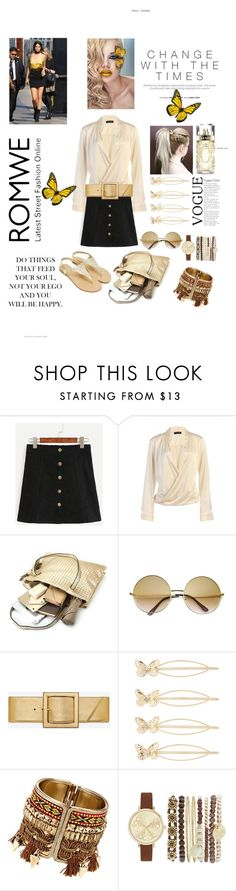 """Black Skirt"" by polyyvor ❤ liked on Polyvore featuring ZeroUV, Yves Saint Laurent, Accessorize, Jessica Carlyle and Lancôme"