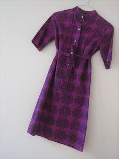 Ihana emeritakaapu Marimekko Dress, Summer Work Outfits, Bold Prints, Work Clothes, Textile Design, Short Sleeve Dresses, My Style, Pretty, How To Wear