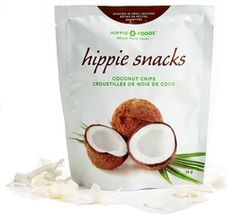Yummy and Crispy Coconut Chips | Hippie Snacks | $5.99 | Wholefoods | Loving the summer
