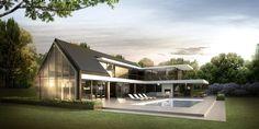 DENOLDERVLEUGELS Architects & Associates / Landelijk moderne hoeve / Villa Korspel, Belgie