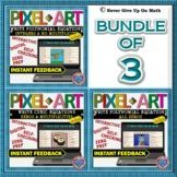 BUNDLE PIXEL ART: Write Polynomial Functions (FROM ALL ZER Secondary Resources, Secondary Teacher, Math Activities, Teaching Resources, Teaching Materials, Teaching Tools, Middle School Teachers, Fun Math, Math Lessons