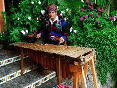 Marimba de tecomates Guatemala