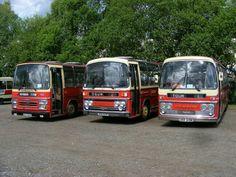 Preserved Barton Transport Line up...