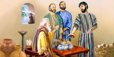To help his disciples understand that he will not immediately be installed as Messianic King, Jesus gives the illustration of the 10 minas.