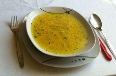 Juha, supa, Pileća juha, ručak