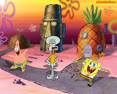 Wallpaper of Spongebob Squarepants for fans of Spongebob Squarepants 31281707 Spongebob Squidward, Spongebob Patrick, Spongebob Squarepants, Cartoon Art Styles, Cartoon Drawings, Cartoon Tv, Cool Cartoons, Disney Cartoons, Spongebob Background
