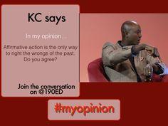 @Africankc #AffirmativeAction