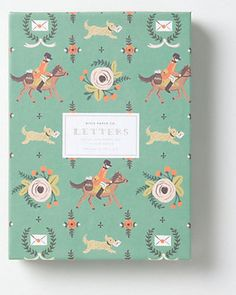 Stationery featuring pony express illustrations is just too cute to pass up! Buy it here: http://www.bhg.com/shop/anthropologie-pony-express-stationary-p504a0db782a7e3b7aae75e70.html?socsrc=bhgpin121612shopponystationary