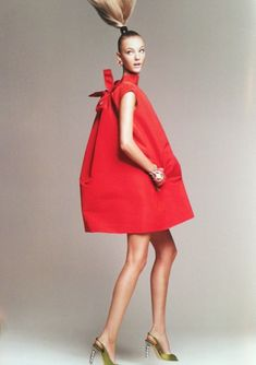Caroline Trentini in Vogue- Oscar de la Renta http://markdsikes.com/2014/03/23/oscar-obsessed/
