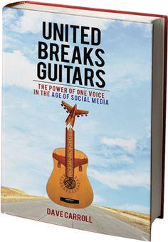 United Breaks Guitars - nu på bog. Læs teksten på hjemmesiden :)
