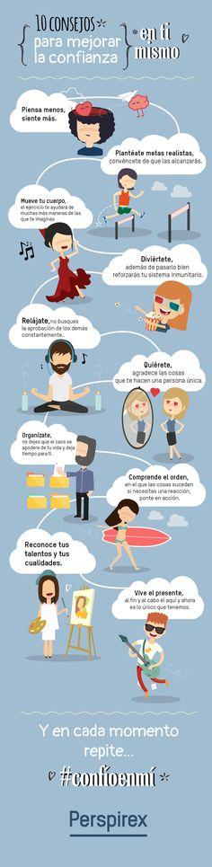 Consejos para ganar confianza en uno mismo | Salud