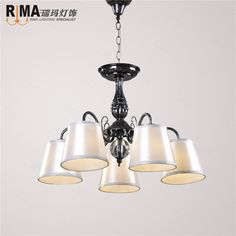 black mini chandelier black pendant lamp with lights down hot sales from factory directly