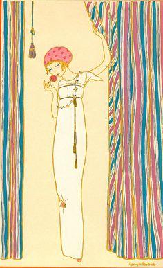 Les Choses de Paul Poiret V 1911 :: Georges Lepape (Art Deco)