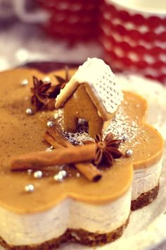 Christmas Deserts, Christmas Brunch, Xmas Food, Christmas Cooking, Cocktail Desserts, Recipes From Heaven, Cheesecake Recipes, No Bake Cake, Love Food