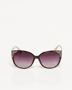 Le Château: Jewel Encrusted Cat Eye Sunglasses, $18.00
