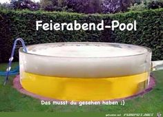 Beer Humor - The perfect pool for beer drinkers. National Beer Day, Beer Memes, Pool Installation, Alcohol Humor, Funny Alcohol, Drinking Quotes, My Pool, Beer Lovers, Man Humor