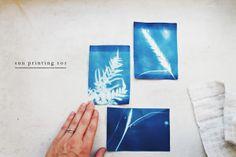 Secondhand Sundays: sun printing 101