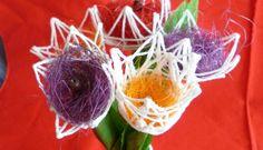 tulipány z provázku - Hledat Googlem