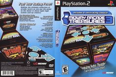 Playstation 2, Midway Arcade, Ever After High Games, Lettering, Retro, Classic, Cover, Games, Blue Prints
