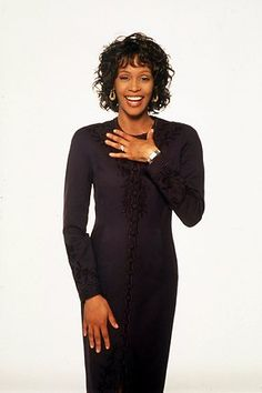 Whitney Houston at the height of her career. Stunning!