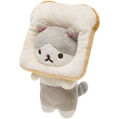 San-X bread cat plush ~kawaii!