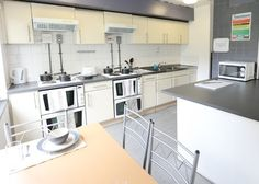 Modern student accommodation at Chandos Hall in city centre Manchester Manchester City Centre, Kitchen Cabinets, Student, Modern, Furniture, Home Decor, Trendy Tree, Decoration Home, Room Decor