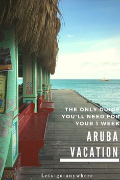 One week Aruba vacation itinerary. Everything you need to know for your next trip to Aruba including Flamingo Beach! Best Vacations, Vacation Destinations, Vacation Spots, Vacation Ideas, Vacation Places, Family Vacations, Vacation Food, Tropical Vacations, Vacation Packing