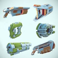 6 Incredible Sci-Fi weapon models are ready for you to add to your futuristic shooter! http://www.unitymagic.com/shop/en/assets/sci-fi-gun-pack.html