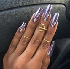 mirror nails | Tumblr