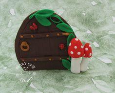 Fairy Garden Door Fairy garden miniature fairy by BearyCuteStudio