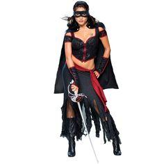 fetish Zorro satin cape