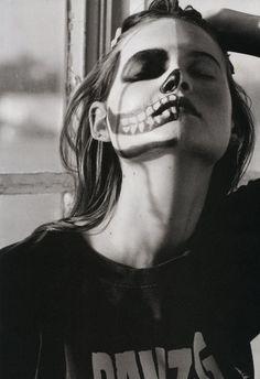Skull: Behati Prinsloo by Matt Jones for i-D Summer 2011 |