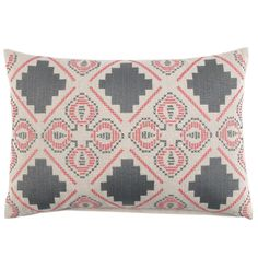 dusty decorative pillow from @John Robshaw Textiles